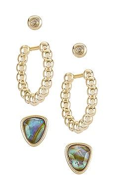 Ivy Hug Stud Earring Set Kendra Scott $45