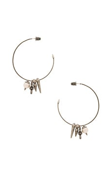 Kendra Scott Cindy Earring in Antique Silver
