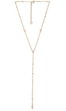 Kendra Scott Grant Necklace in Rose Gold