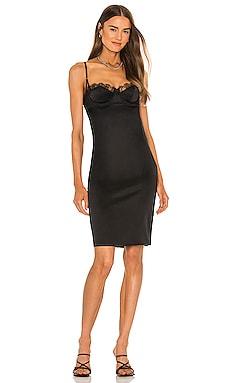 Lace Inset Fitted Dress Kiki de Montparnasse $448