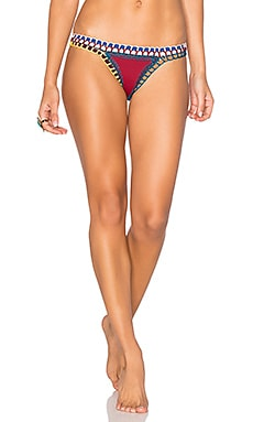 Soley Bikini Bottom en Rouge & Multi