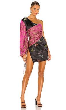 One Shoulder Balloon Dress Kim Shui $330