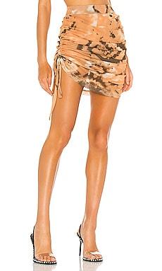 Shirred Mesh Skirt Kim Shui $175