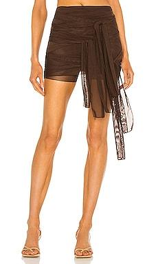 Mesh Tie Skirt Kim Shui $295
