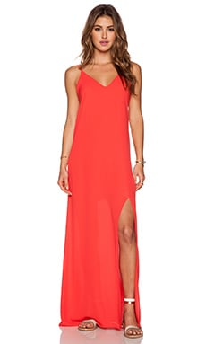 Cami Maxi Dress in Lipstick