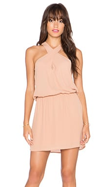 krisa Cross Front Dress in Chloe