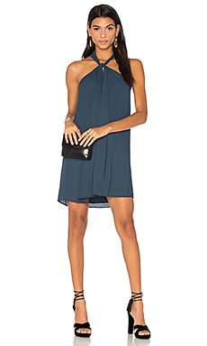 Loop Front Mini Dress in Newport