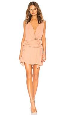 Купить Платье surplice tank - krisa, Мини, США, Румянец