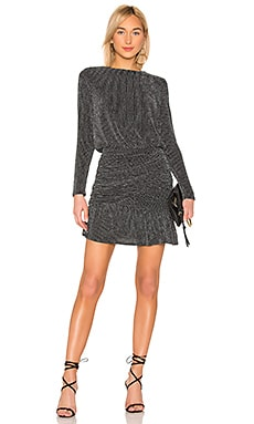 Drape Skirt Long Sleeve Mini Dress krisa $264