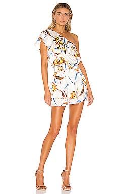 4ee8598b0bec9 One Shoulder Ruffle Mini Dress krisa  264 BEST SELLER ...