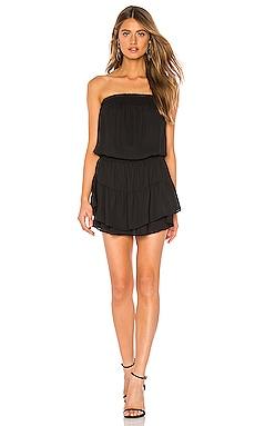 Smocked Strapless Mini Dress krisa $176