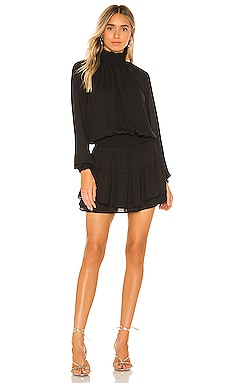 X REVOLVE Smocked Turtleneck Dress krisa $194 NEW ARRIVAL