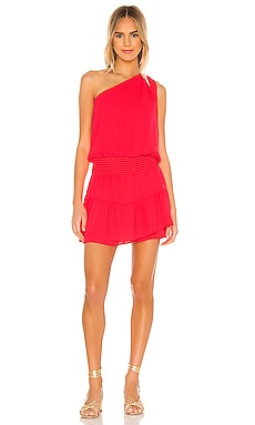 MINIVESTIDO ONE SHOULDER krisa $187