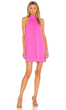 Tie Back Halter Dress krisa $187