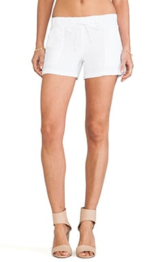 krisa Pocket Shorts in White