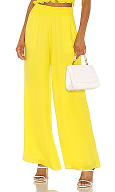 Smocked Waist Wide Leg Pant krisa $32 (FINAL SALE)