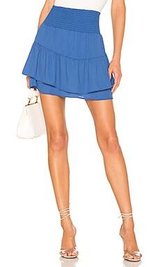 X REVOLVE Smocked Skirt krisa $73