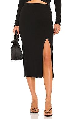 X REVOLVE Bodycon Slit Skirt krisa $143 BEST SELLER