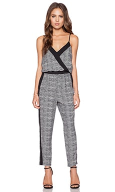 krisa Panel Jumpsuit in Metro