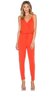krisa Surplice Jumpsuit in Sunrise