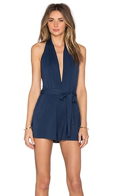 Halter Romper in Eclipse