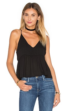 Camisole Crop Top en Noir