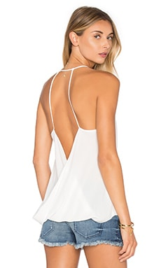 Crossed Back Cami in White