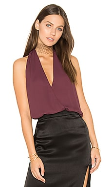 Surplice Tank en Winterberry