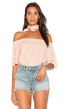 Linen Off Shoulder Top
