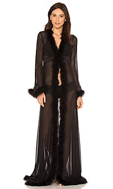 Glam Feather Robe KISSKILL $137