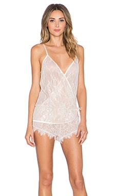 KISSKILL Fiore Playsuit in Ivory