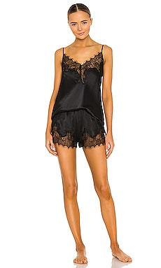KISSKILL Eva Cami & Short Set in Black