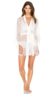 KISSKILL Fiore Robe in Ivory