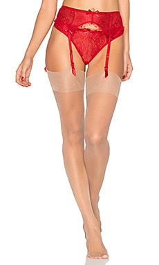 Dolce Suspender in Red