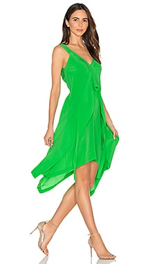 Flow Layered Dress in Apple