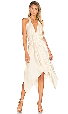 Fluid Drape Dress