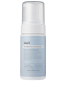 Rich Moist Foaming Cleanser Klairs $18