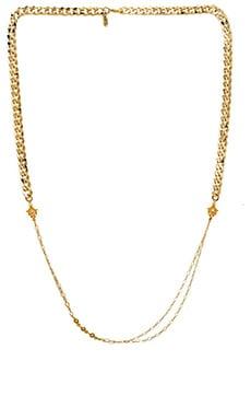 Karen London Batik Chain Necklace in Gold