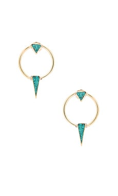 Karen London Summer Moon Earring in Gold