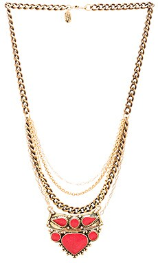 Karen London Sphinx Necklace in Gold