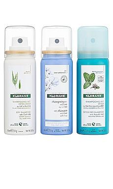Dry Shampoo Discovery Set Klorane $24