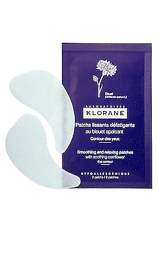 Smoothing and Relaxing Patches with Soothing Cornflower 7 Pack Klorane $24 BEST SELLER