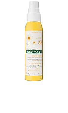 Sun Lightening Spray with Chamomile & Honey Klorane $18