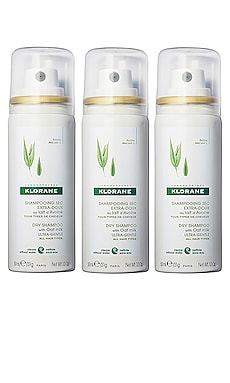 Spray Slay Repeat Dry Shampoo Kit Klorane $24
