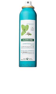 Detox Dry Shampoo with Aquatic Mint Klorane $20