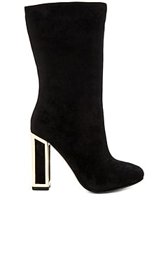 Delores Boot in Black Suede