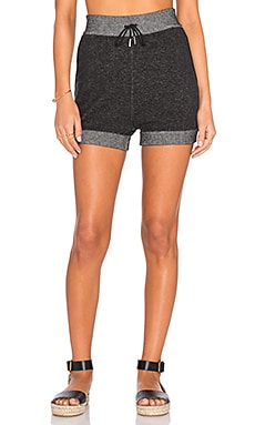 Ola Jogger Short in Charcoal Grey