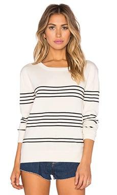 Kathryn McCarron Tilly Stripe Pullover in Cream