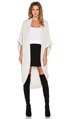 Kathryn McCarron Olivia Oversized Dolman Wrap in Grey