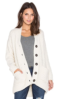 Kathryn McCarron Emil Grandpa Cardigan in Cream